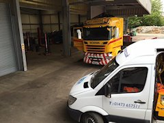 fleet vehicle mot preparation Ipswich