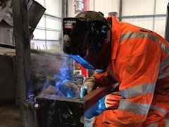 commercial vehicle welding service